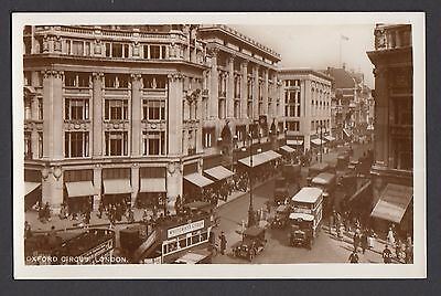 Oxford Circus,  London   -  Unposted  (RP)  (1622)
