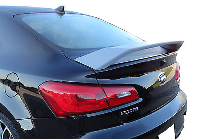 Painted Spoiler For A Kia Forte Coupe Koup 2-Door 2014-2017
