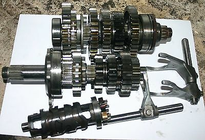 Yamaha R6 Complete Gearbox Gears, Drum, Legs, Pins 1999 2002 99 00 01 02  5Eb