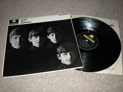 VG 151g With The Beatles Lp EJ Day cover UK Press -7N/-7N PMC 1206