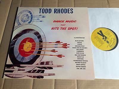 Todd Rhodes - Dance Music That Hits The Spot! - Lp - Swingtime St 1020 (Di625)