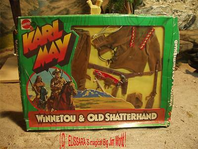 Big Jim - Karl May - Western Outfit - WINNETOU t ! MIB - Indian Chief  OVP