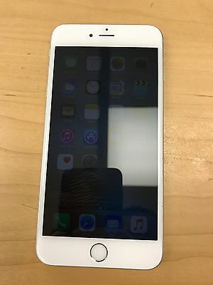 Apple iPhone 6s Plus Silver AT&T 128gb Used New Screen