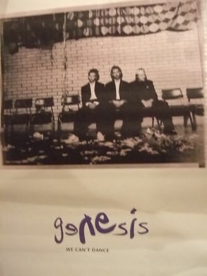 Genesis We Can't Dance #2 In-Store Promo Poster