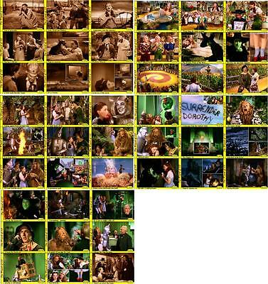 Wizard of OZ Movie Storyboard Trading Cards Judy Garland Munchkins
