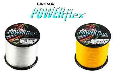 Ultima Powerflex Shockleader - All Colours and Sizes - 4oz Spool
