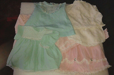 Lot of Vintage Baby Girl's Clothes From the early '70's - Mothercare plus others