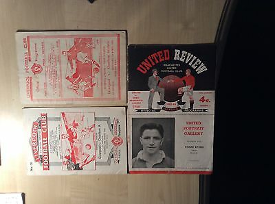55/56 Man/Manchester United v West Bromwich Albion CHAMPS