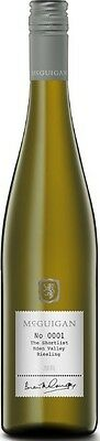 McGuigan `The Shortlist` Riesling 2015 (6 x 750mL), Eden Valley, SA.