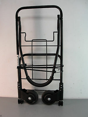 Heavy Duty Folding Steel Compact Airport Dolley Travel Luggage Cart Hand Truck