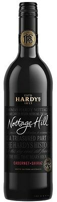 Hardy's `Nottage Hill` Cabernet Shiraz 2015 (6 x 750mL), SE AUS.