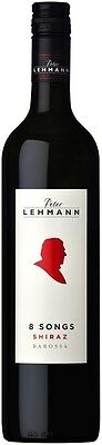 Peter Lehmann `Eight Songs` Shiraz 2012 (6 x 750mL), Barossa, SA.