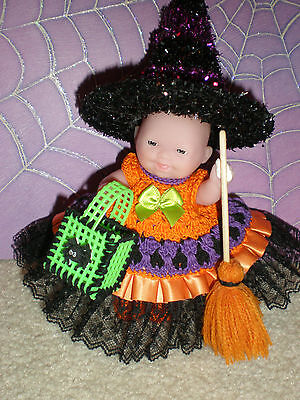 """Halloween Ooak For Your 5"""" Baby/ Hand Made"""