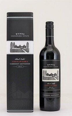Wynns `Black Label` Cabernet Sauvignon 2012 (3 x 750mL Tin Cases).