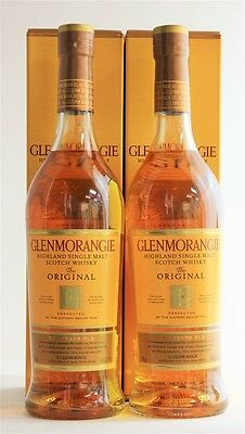 Glenmorangie `The Original` Single Malt Scotch Whisky 10YO (2 x 700mL)