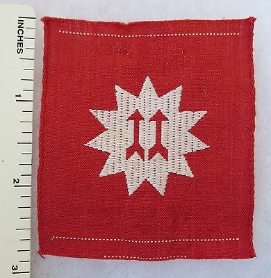 Early Post WW2 AUSTRALIAN ARMY FORMATION SIGN PATCH - 11th INFANTRY BRIGADE