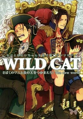One Piece YAOI Doujinshi Marco x Ace Doflamingo x Crocodile Mihawk Wild Cat The