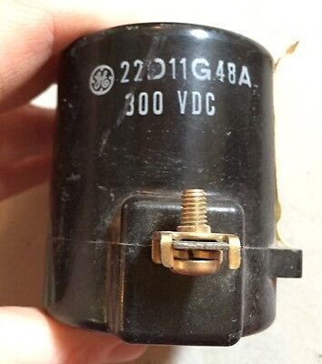 General Electric 22D11G48A Solenoid Coil 300V