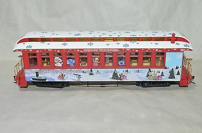 On30 scale Hawthorne Village Rudolph's Holiday Christmas passenger car train #2