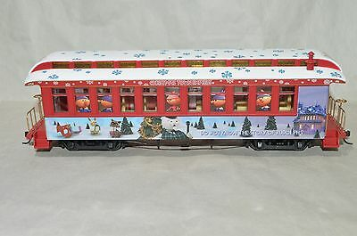 On30 scale Hawthorne Village Rudolph's Holiday Christmas passenger car train #3