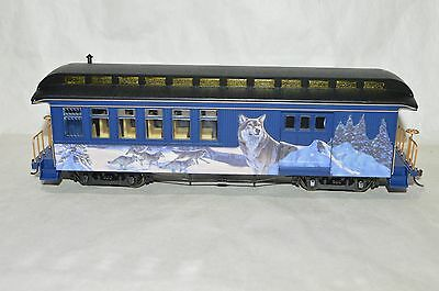 On30 scale Hawthorne Village Silver Moon Holiday Christmas passenger car train 2