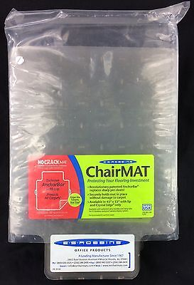 E.S. Robbins ChairMat Sample Pack 8 x 11 Cleated Pieces x 8