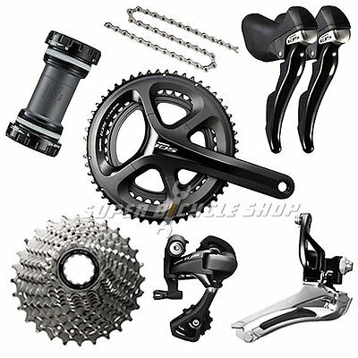 Shimano 105 5800 Road 50/34T Groupset Kit 7 piece 172.5MM 11-32T 2x11 Speed
