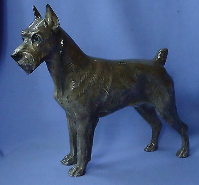 "1940 Rosenthal 10"" Schnauzer Dog Germany"