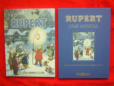 1949 Rupert Annual Facsimile Limited Edition Repro Excellent Unclipped FREE P&P