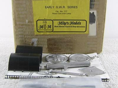 Mike's Models 00 Gauge Cat. No. 117 G.W.R. Water Tank + Lamp Track Accessory NEW