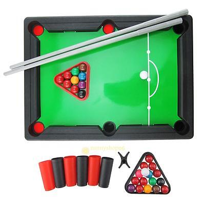 Mini Pool Table Billiards Snooker Game Toy Kids Boy Girl Board Games Gift New