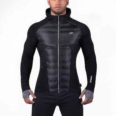 "Gym Aesthetics Jacket ""Ultrasonic Synthetic"" - Black"