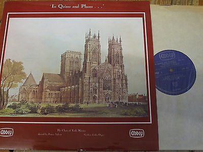 LPB 721 In Quires and Places No. 10 / Choir of York Minster