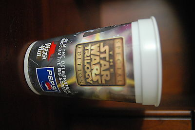 1 Star Wars Special Edition Pepsi Pizza Hut Becher / Cup / Goblet 1996 USA