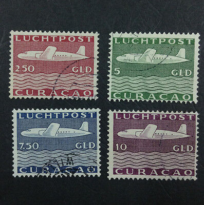 Momen: Curacao Stamps #c45-48 Used *quality* $71 P1332R #2275
