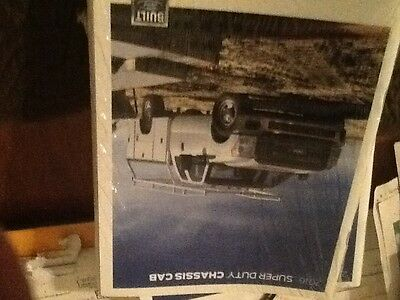 2016 Ford F-350 450 550 chassis cab brochure new