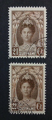 Momen: Suriname Stamps #127-128 Used *quality* $29 P1332R #2292