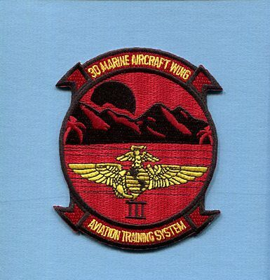 3rd MAW Marine Air Wing Aviation Training System USMC CORPS Squadron Patch