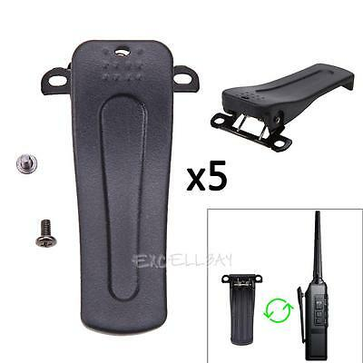 5 Pcs Belt Clip for Retevis H777 for BaoFeng BF-666S 777S BF-888S 2-Way Radio