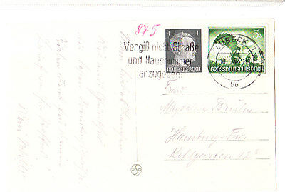 Germany 1940 Pc From Lubeck Vf