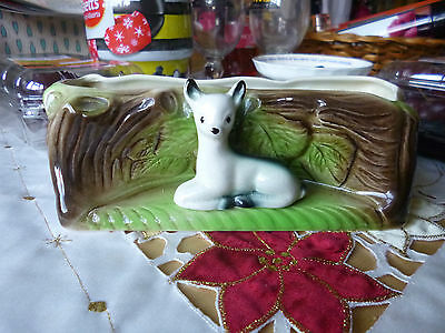 eastgate pottery - fawn with log