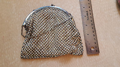 Antique Vintage Whiting and David Mesh Purse