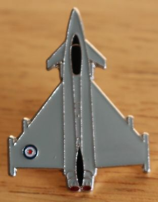 RAF Royal Air Force Eurofighter TYPHOON Metal Lapel Badge