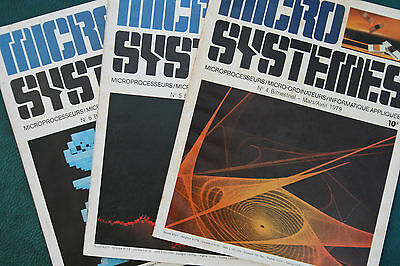 Micro Systemes N° 4,5 Et 6 1979
