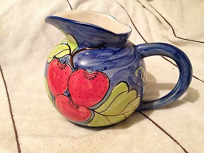 Vintage, Hand Painted Water Jug