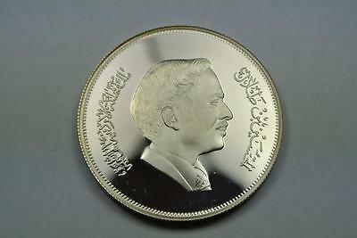 Jordan 1981 3 Dinars PROOF Silver Coin, Year Of The Child, KM-143 - C2070