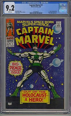 Captain Marvel #1 Cgc 9.2 White Pages