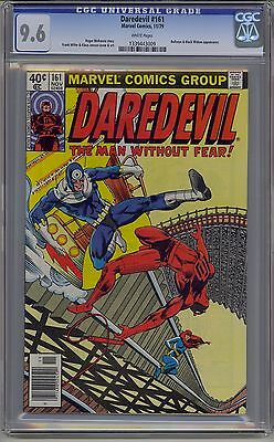 Daredevil #161 Cgc 9.6 White Pages