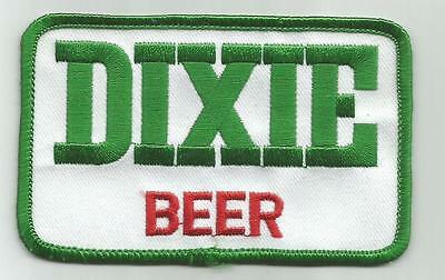 """Dixie Beer  Uniform or Shirt Patch  4"""" X 2 1/2"""""""
