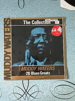 the muddy waters collection 20 blues greats 33rpm ex condition